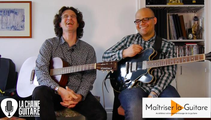 Chronique Pierre & Cyriaque - La Chaîne Guitare et Maîtriser La Guitare