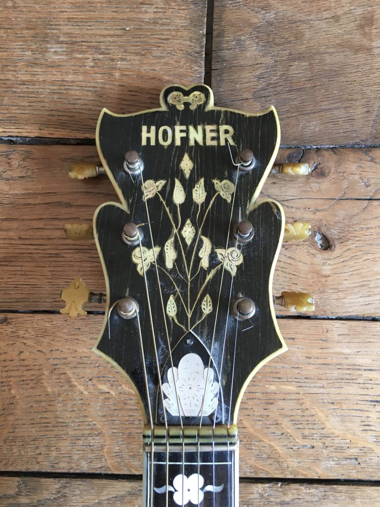 Höfner Committee (1960) - Chronique magazine Vintage Guitare