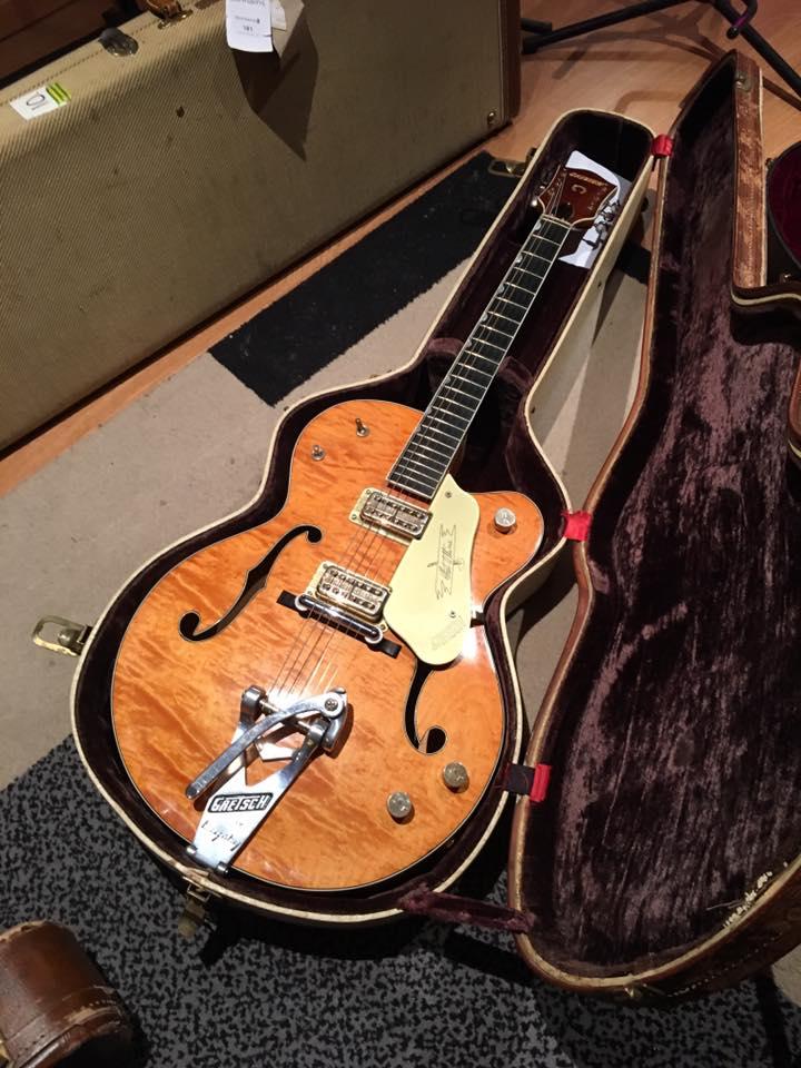 Après-midi Guitares Vintage Matthieu Lucas du 13/05/17 - Grestch 6120 Brian Setzer
