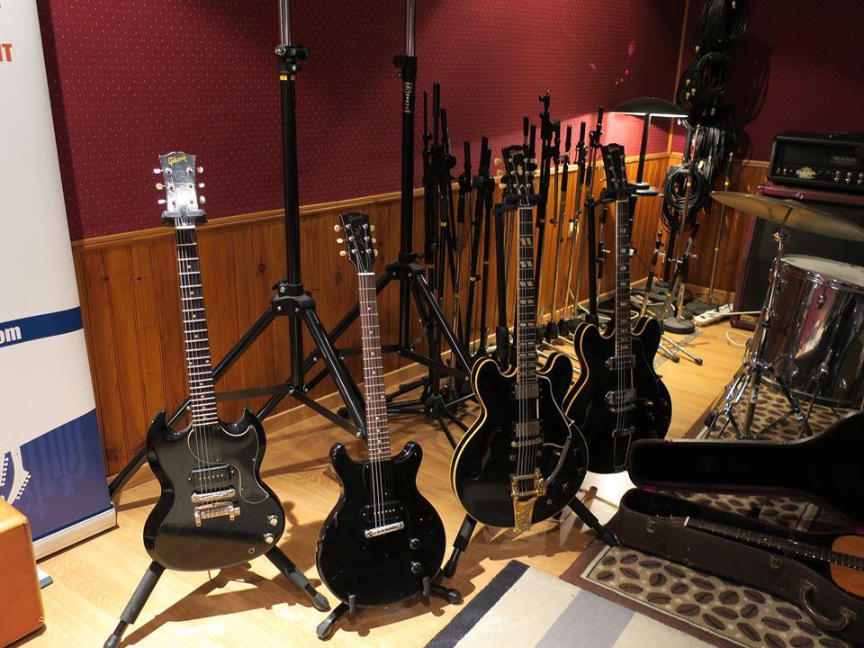 Après-midi Guitares Vintage Matthieu Lucas du 13/05/17 - Factory Black
