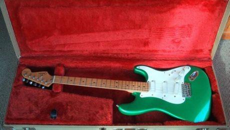 Test Guitare : Stratocaster Clapton Fender