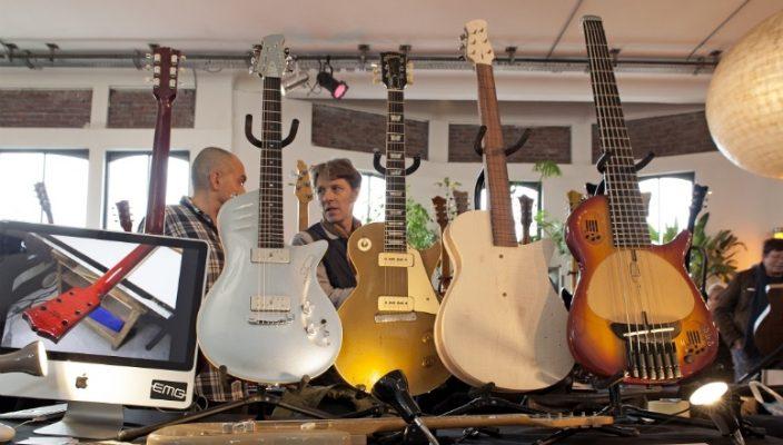 Guitares Hervé Tonnard (luthier) - Interview