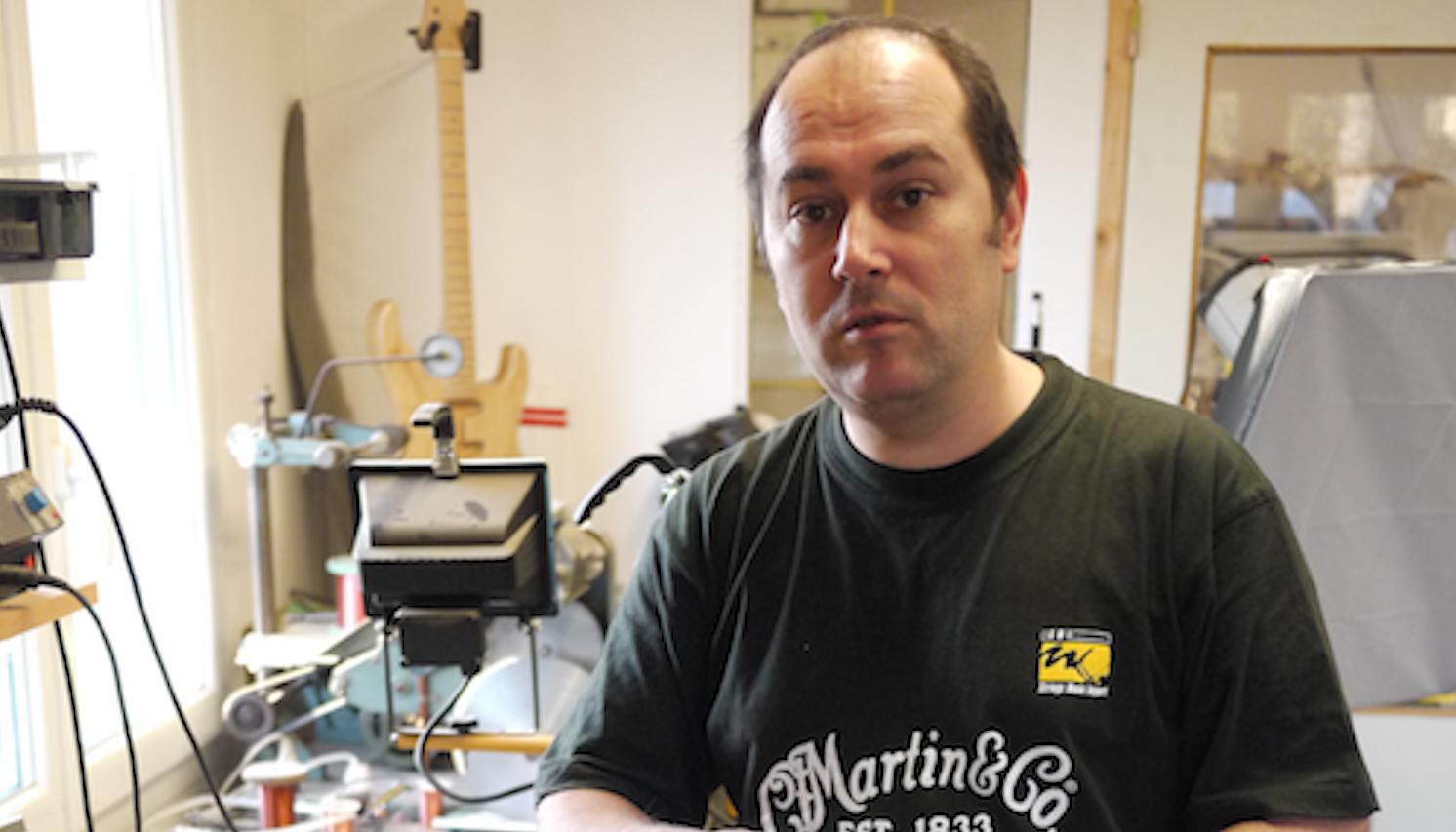 Interview Xavier Petit (luthier)