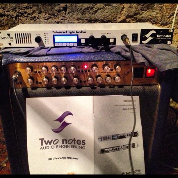 Test du Torpedo Live de Two Notes