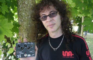 Patrick Rondat et sa distortion LNA v2 à Graines de Guitares 2013