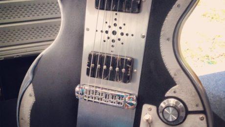 Interview Meloduende au salon de Guitares au Beffroi 2015