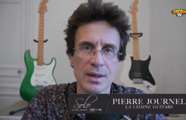 Télé La Chaîne Guitare : un Solo sur L'Enôrme TV
