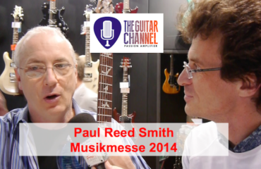 Interview Paul Reed Smith 2014 au Musikmesse