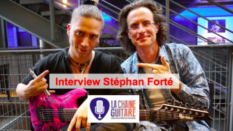 Interview de Stéphan Forté