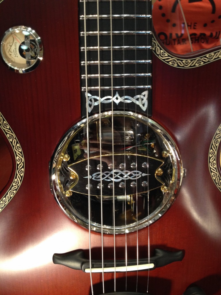2014 Ruokangas Nemo guitar with Valvebucker prototype