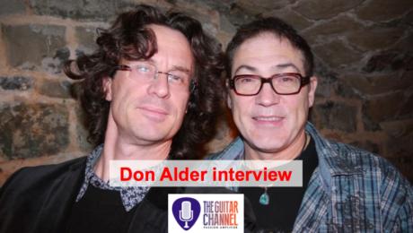 Interview de Don Alder, guitariste acoustique canadien