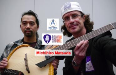 Interview Michihiro Matsuda au @HolyGrailGuitar show 2014