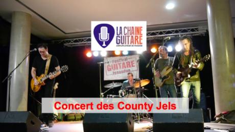 County Jels live au Festival Guitare Issoudun 2014
