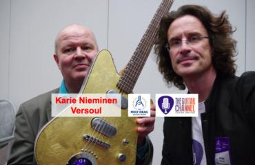 Luthier Kari Nieminen from Versoul Guitars
