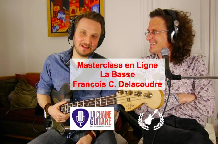 Walking Bass par François C. Delacoudre - Masterclass en Ligne