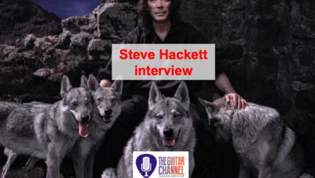 Interview Steve Hackett (aka @HackettOfficial) à propos de Wolflight