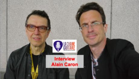 Interview Alain Caron (@AlainCaronBass), un grand bassiste au @Musikmesse 2015