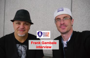 Interview Frank Gambale au Musikmesse 2015