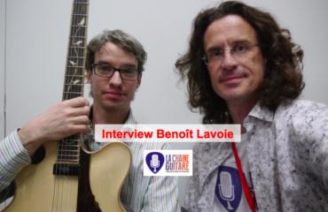 Interview Benoît Lavoie, un extraordinaire luthier québécois à @GuitaresBeffroi 2015