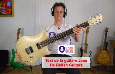 Test Guitare : la Jane de Relish Guitars, une belle helvète innovante !