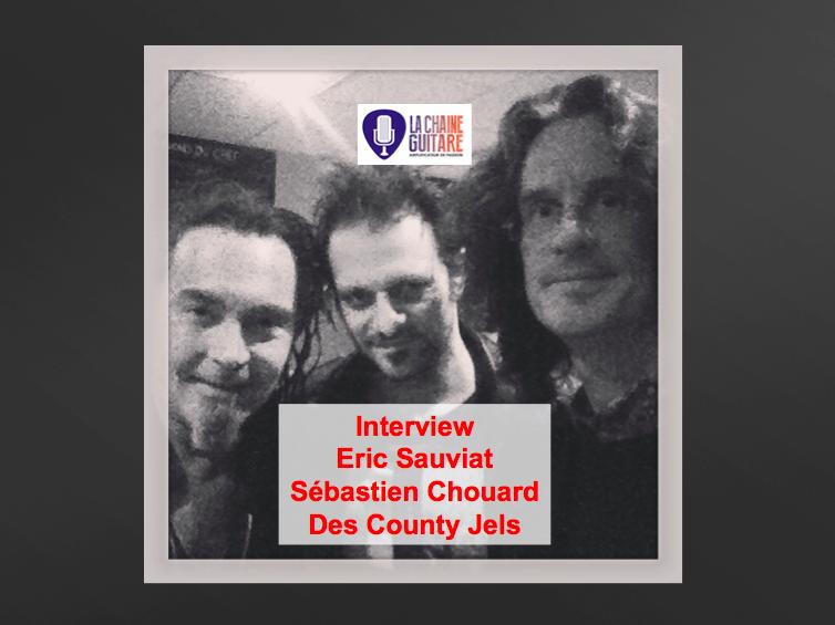 Interview Chouard et Sauviat, guitaristes des County Jels
