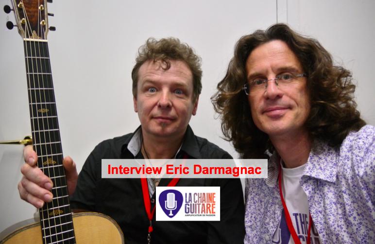 Interview luthier Eric Darmagnac à @GuitaresBeffroi 2015