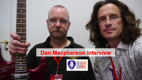 Interview Dan Macpherson, luthier à @GuitaresBeffroi 2015