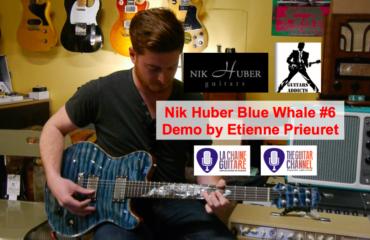 Démo d'une Blue Whale Nik Huber par Etienne Prieuret