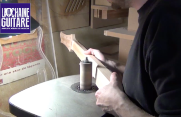 Construction d'un manche de guitare électrique - Projet Spartan épisode #10