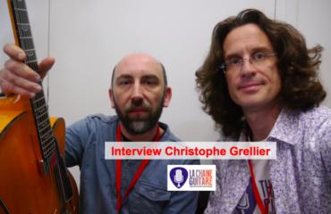 Interview du luthier Christophe Grellier à Guitares au Beffroi 2015