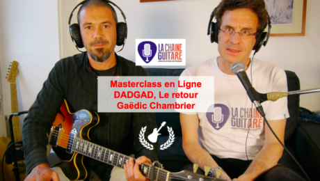 DADGAD avancé par Gaedic Chambrier - Masterclass en Ligne