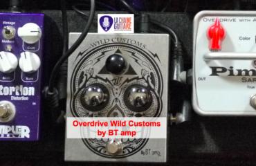 Dia de Los Overdrive Wild Custom par BTamp - Test Pédale