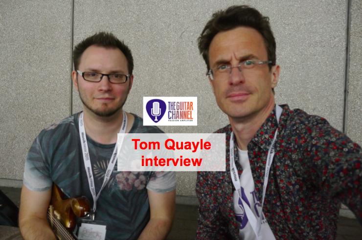 Interview Tom Quayle au Musikmesse 2015