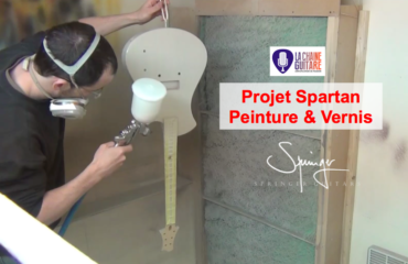 #13 Projet Spartan @SpringerGuitars - Peinture & Vernis
