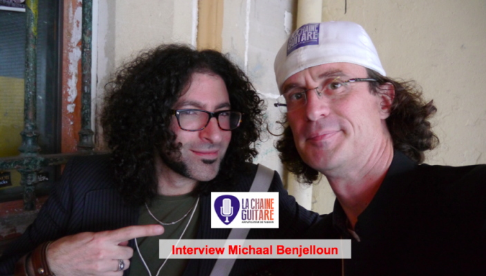 Interview Michaal Benjelloun, un guitariste plein de talent et d'énergie