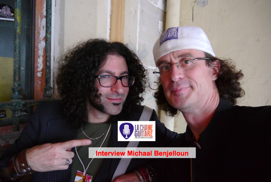 Interview Michaal Benjelloun, un guitariste plein de talent et d'énergie