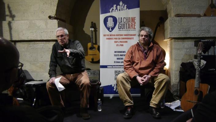 Conférence Guitare Vintage par Duchossoir et Legrand