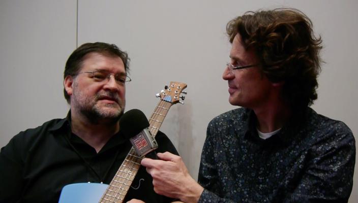 Interview Egon Rauscher, luthier de @SoulToolGuitars au @HolyGrailGuitar show 2015