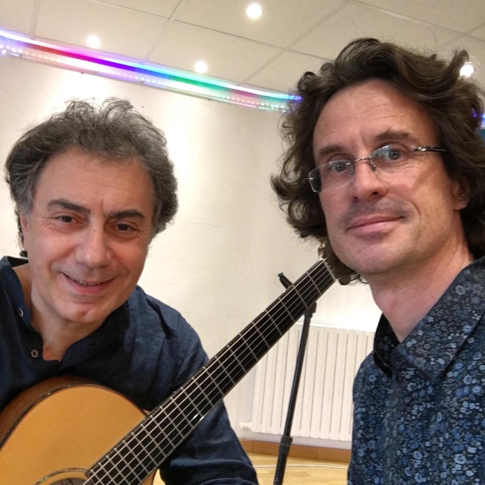 Pierre Bensuan et Pierre Journel