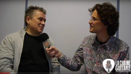 Interview Patrice Vigier: fabricant des guitares Vigier et importateur