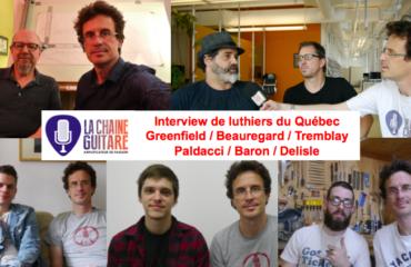 Interview de luthiers du Québec
