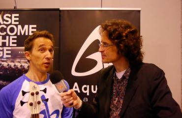Interview du luthier Sébastien Aquilina au NAMM 2016