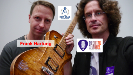 Interview Frank Hartung, luthier au @HolyGrailGuitar show