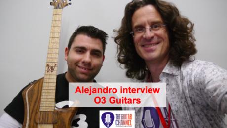 O3 Guitars : interview du luthier Alejandro Ramirez