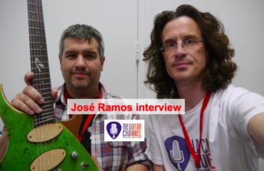 Interview José Ramos, luthier de Ramos Guitars