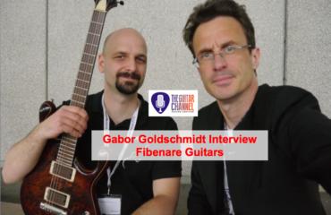 Gabor Goldschmidt - Luthier de Fibenare Guitars