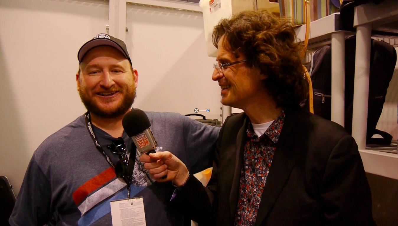 Josh Smith en interview durant le NAMM 2016
