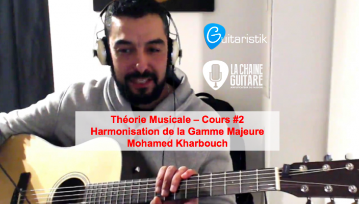 Harmonisation Gamme Majeure par Mohamed Kharbouch - Théorie Musicale - Cours #2