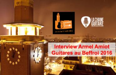 Guitares au Beffroi 2016 : le point avec l'organisateur du salon