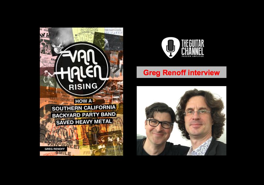 Van Halen Rising : interview avec l'auteur Greg Renoff